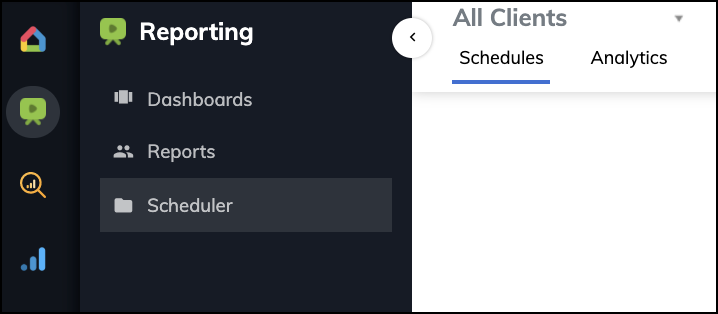Client dashboard tools: ReportGarden All Client Reporting